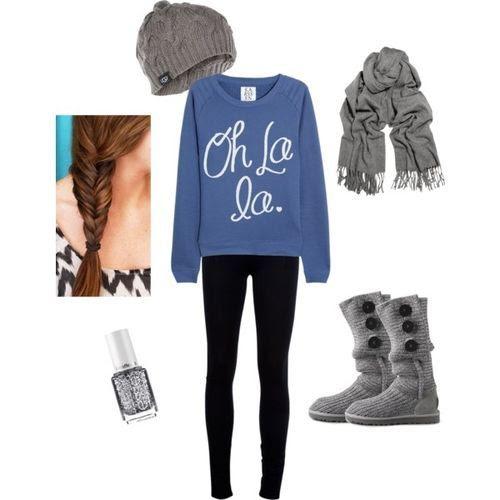 ComfyCutie (Zoe Karssen Oh La La cotton-blend jersey sweatshirt $45.19) (girls,dress,girl,fashion,style,clothes,polyvore,our picks)