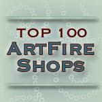 Top 100 ArtFire Shops