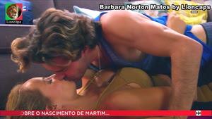 Barbara Norton Matos sensual nas novelas Louco Amor e Nazare
