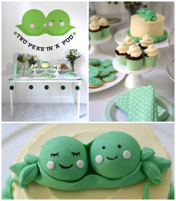 Unique Themes For A Twin Baby Shower Twiniversity