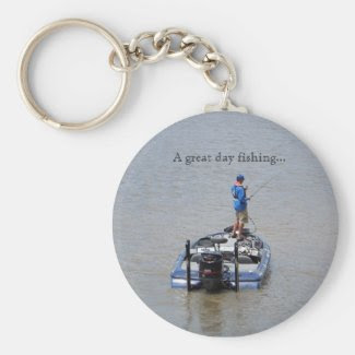 A Great Day Fishing... Keychain