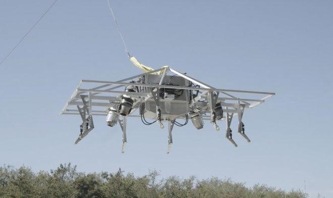 Jetpack Aviation успешно испытала прототип летающего мотоцикла