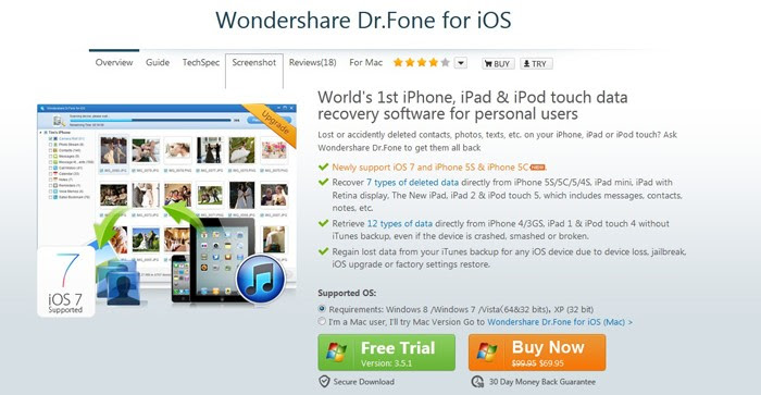 Top 3 iPhone Data Recovery Software