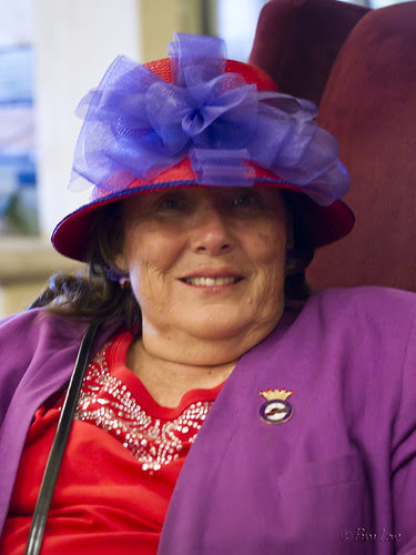 Red Hat Society Queen Aloha Lindi