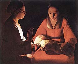 Georges de al Tour, 'The New-born' (1640s)