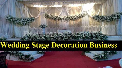 How to Start a Wedding Stage Decoration Business in
