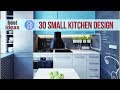latest interior design for small kitchen