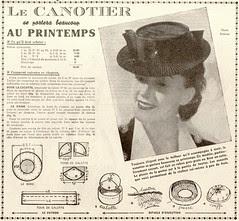 canotier print