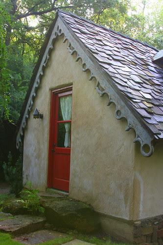 hobbit house back door
