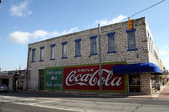belton coca-cola sign