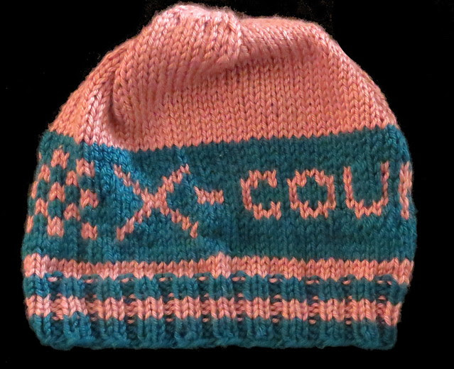 x country hat  right side