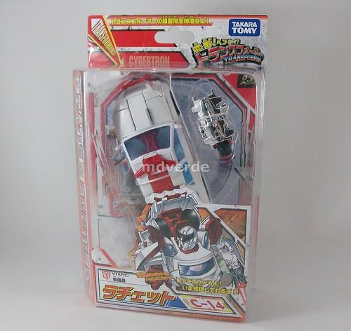 Transformers Ratchet Classics Henkei Deluxe - caja