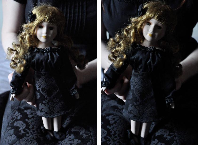 Emily - boneca de porcelana