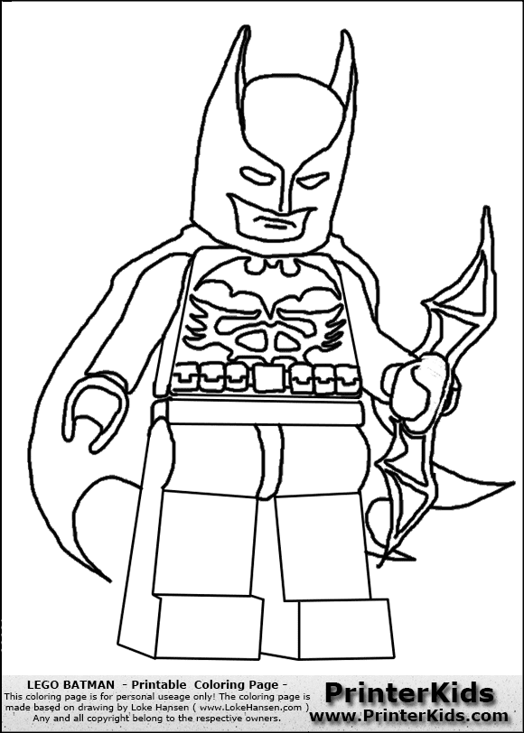 55 Batman Lego Coloring Pages Printables For Free