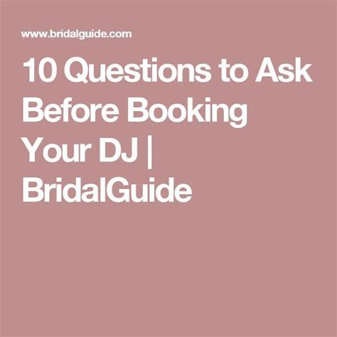 10 Questions to Ask Before Booking Your DJ   Dj photos