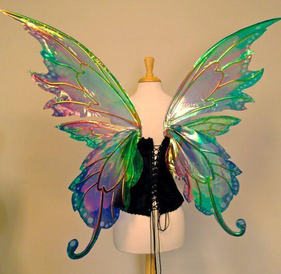 Beautiful fairy wings