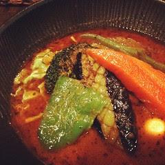 kakuni + veg soup curry @ lavi #sapporo #hokkaido #travel #lunch