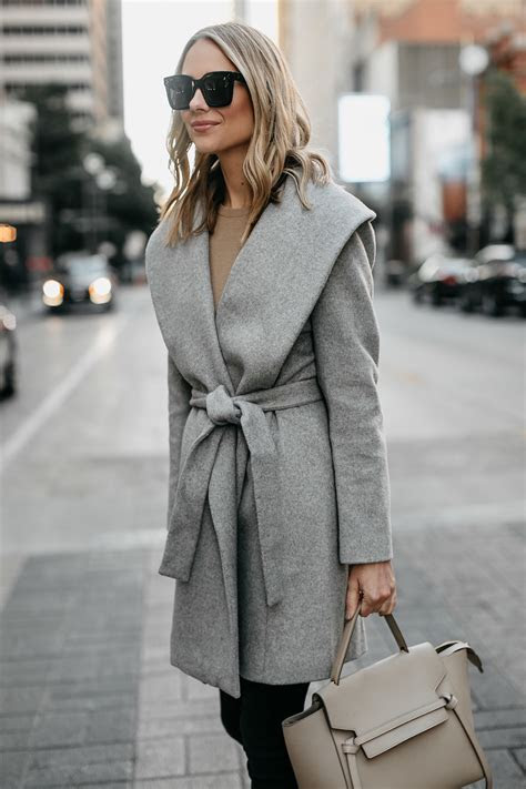 AN AFFORDABLE WRAP COAT TO BUY THIS FALL   Fashion Jackson