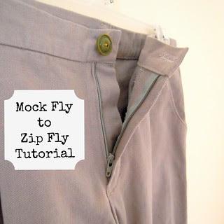 Sketchbook Pants w/ Zip Fly