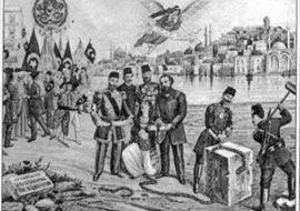 """Batı'ya yönelen ilk Osmanlı """"aydınları."""