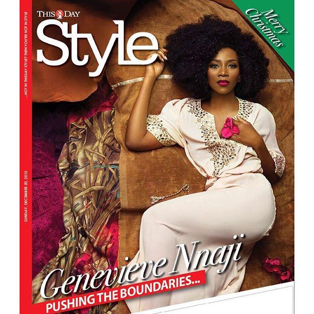 Genevieve Nnaji ThisDay Style 2015 BellaNaija 1