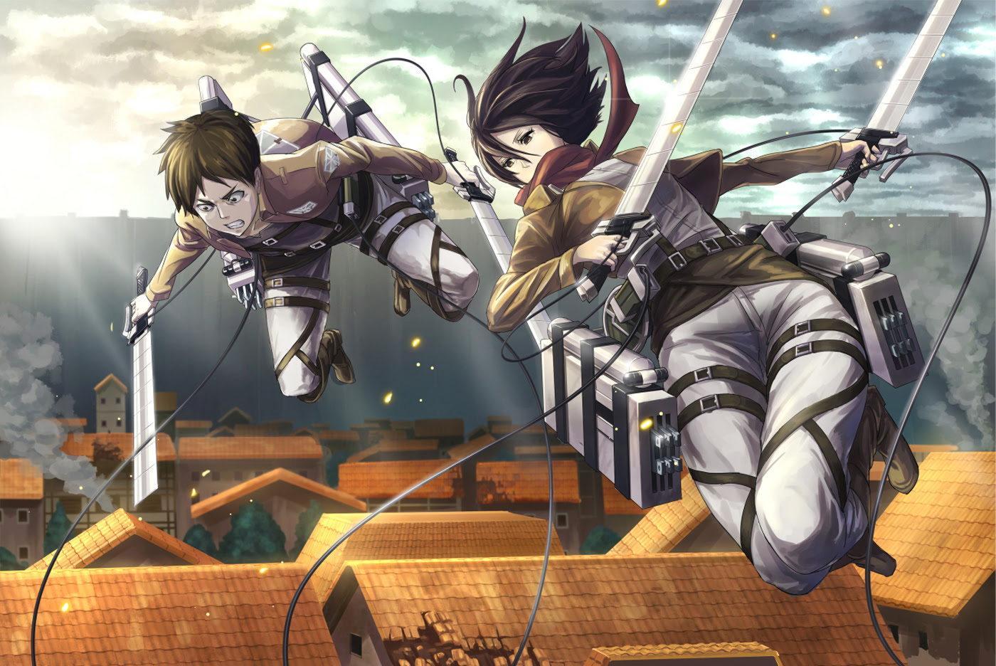 Aot Wallpapers Shingeki No Kyojin Attack On Titan Photo 36001018 Fanpop