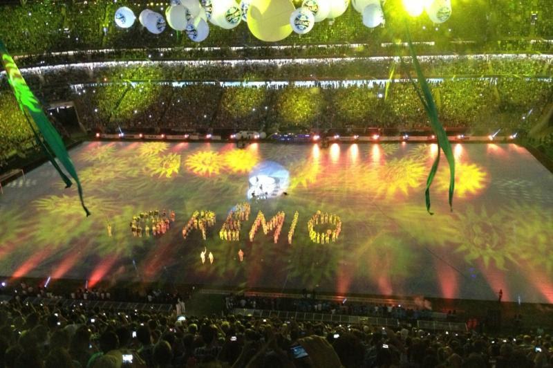 Luzes projetaram o nome do Grêmio:imagem 27