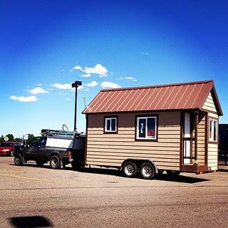 Day189 Saw a real life tiny house today parked in a parking lot. 6.27.13 #jessie365