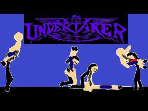 WWE Undertaker | Finisher moves | Animation | Last Ride | Chokeslam | To...
