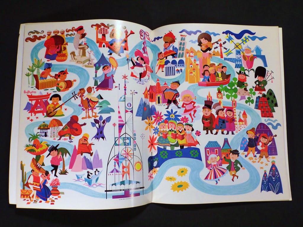 Walt Disney Disneyland 1964 It's a Small World Souvenir Book