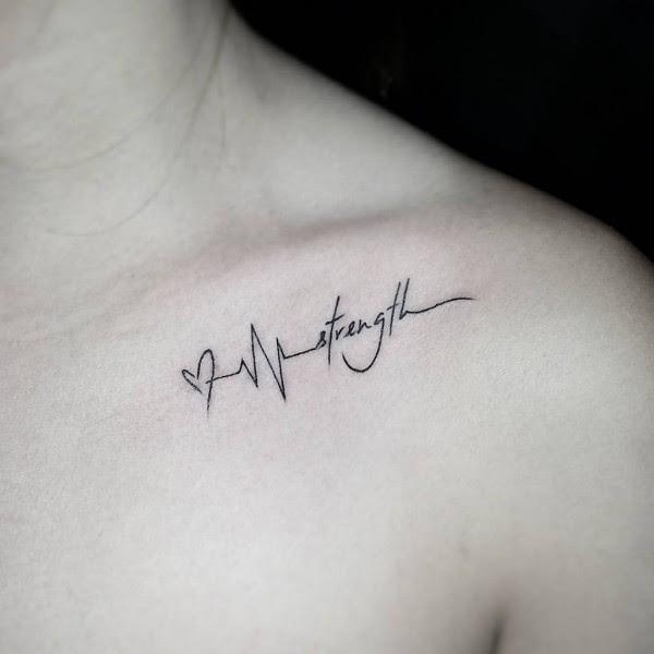 Tatuajes Que Se Verán Súper Sexys En Tu Clavícula