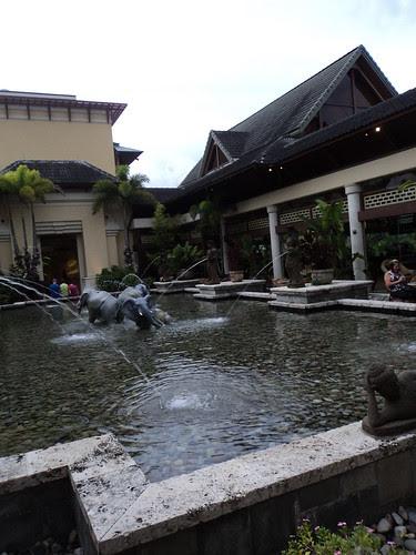 Outdoor fountain