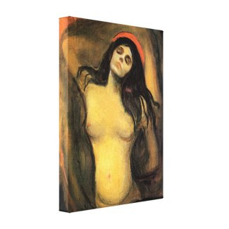 Munch Madonna Canvas Print
