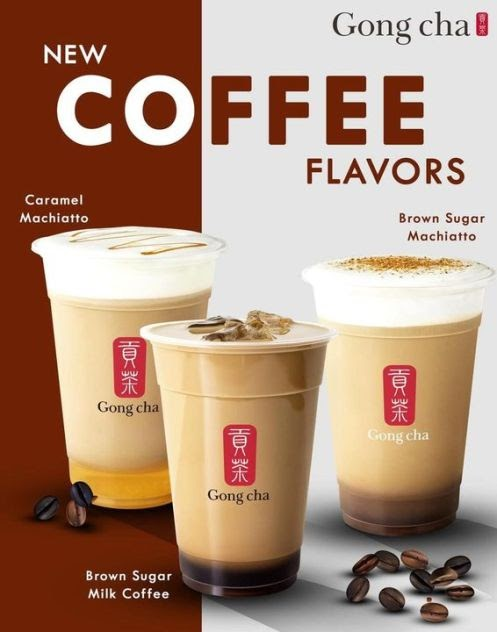 Introducing Gong cha's new blends of Coffee