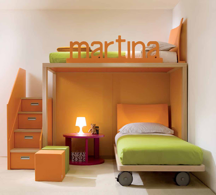 Cool and Ergonomic Bedroom Ideas for Two Children by DearKids ...