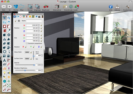 CAD Design Interior Software Microspot For Mac