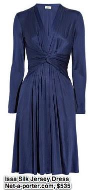 Issa   Long-sleeved silk-jersey dress   NET-A-PORTER.COM