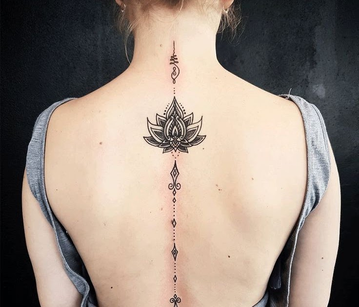 d215295e8 tatto-inspirations: Spine Tattoos for Girls Designs, Ideas and Meaning .