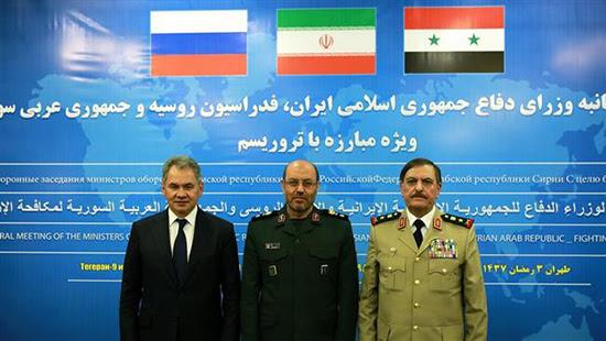 Damas, Téhéran et Moscou déterminées à livrer une bataille décisive contre tous les groupes terroristes