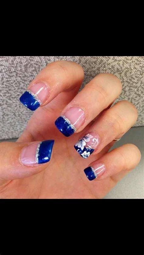 Best 25  Royal blue nails ideas on Pinterest   Royal blue