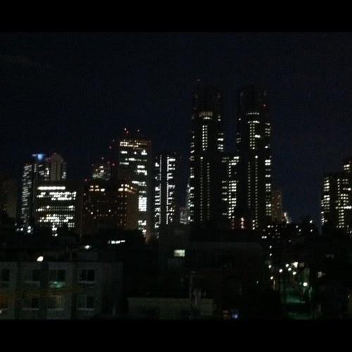 Solo decir que ya estamos instalados en Tokio
