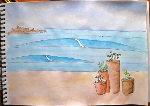 water doodles