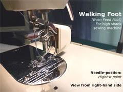 04 - Walking Foot (High Shank)