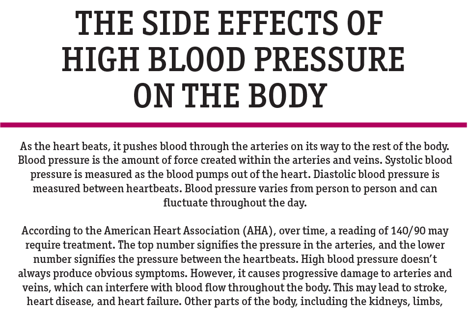 klonopin effect on blood pressure
