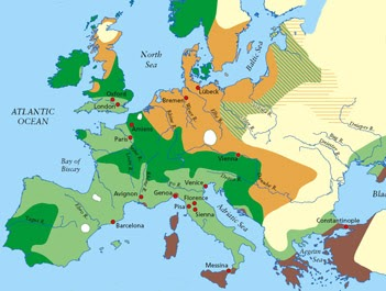 Plague the black death in europe google product forums between 1347 and 1352 at least twenty five million people more than a quarter of europes population died from the plague england lost almost half of gumiabroncs Choice Image