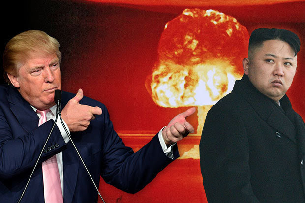 Image result for Donald Trump vs north koreaNorth Korea's Foreign Minister accuse Donald Trump of declaring war on his country
