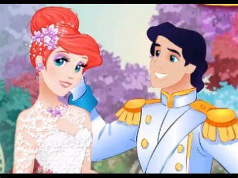 Ariel Wedding Day: Dress Up Ariel For Her Wedding Day