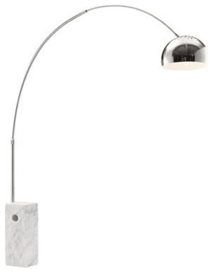 Zuo Modern Ion Floor Lamp Chrome - modern - floor lamps - new york ...