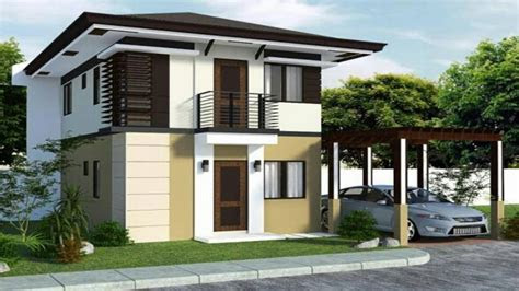 modern tropical house design small modern house exterior
