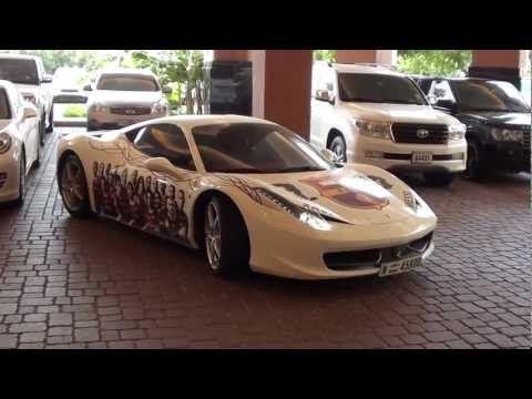 Ferrari 458 Italia FC Barcelona Edition Dubai 2011